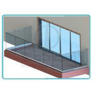 Adjustable Aluminium Fence for Glass Mounting System pictures & photos