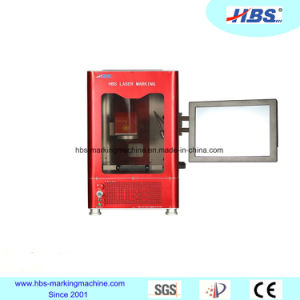 Totally Enclosed Type 20W Fiber Laser Marking Machine for Metal and No Metal Marking pictures & photos