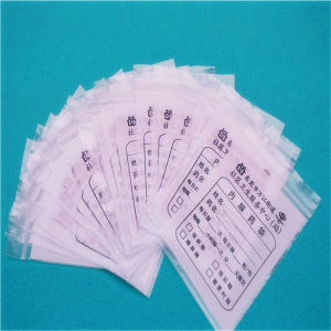 LDPE Custom Zipper Bag, LDPE Custom Medical Zipper Bag (ML-Z-25) pictures & photos