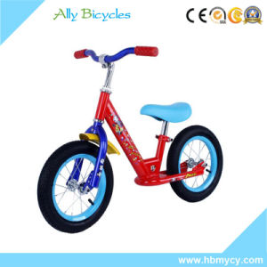 Blue Toddler Training No Pedal Balance Bike Lightwheight Baby Bicycle pictures & photos
