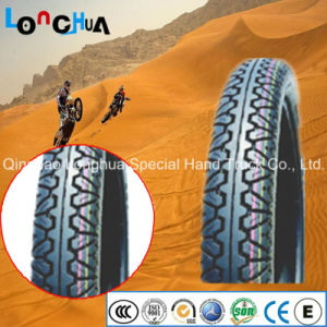 Nigerial Hot Sale Natural Rubber Motorcycle Tire with Golden Quality pictures & photos