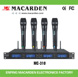 Professional Multi-Channels Wireless Microphone (MC-310)