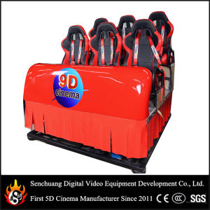 9d Cinema Theater with Six Chairs, The Newest Cinema Equipment