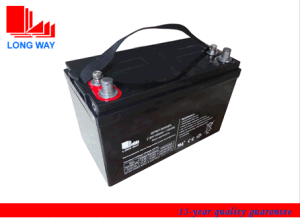 6FM100 Gel Deep Cycle Battery for Solar System pictures & photos