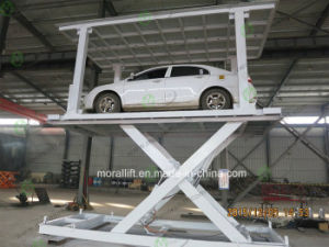 Hot Sale Hydraulic Scissor Car Lift for Basement pictures & photos