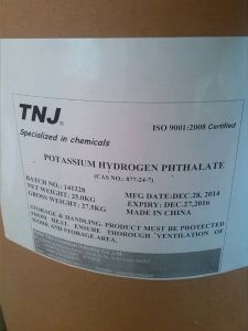 Good Quality Potassium Hydrogen Phthalate CAS 877-24-7 pictures & photos