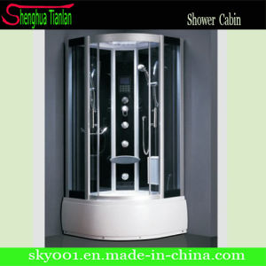Corner Massage Tempered Glass Steam Shower Bath Room (TL-8849) pictures & photos