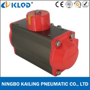 At100d Aluminum Double Acting Pneumatic Rotary Actuator pictures & photos