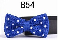 New Design Fashion Men′s Knitted Bowtie (B54) pictures & photos