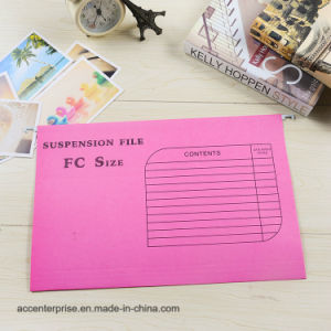 A4 Colorful Suspension File Hanging File pictures & photos