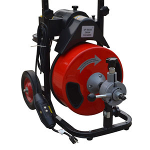 Drum Drain Cleaning Machine Drain Cleaning