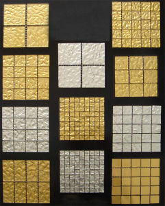 Gold Mosaic, Glass Gold Mosaic for Sale