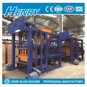 Qt4-25 Popular Autoamtic Hydraulic Block Machine Price in Kenya, Henry Block Making Machine pictures & photos