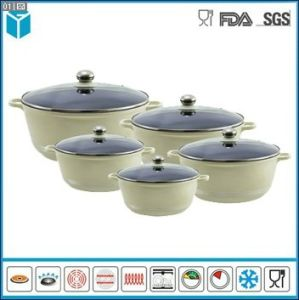 Die Cast Aluminum Sauce Pot Casseroles for Kitchen (ZY-0288)