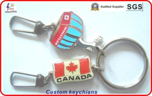 New Metal Keychain with Custom 3D Logo pictures & photos