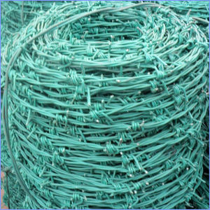 PVC Coated Barbed Wire with Factory Price pictures & photos
