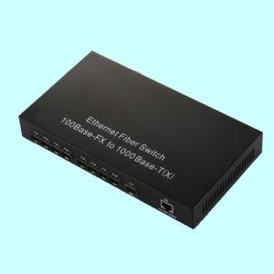 8 100m SFP+1 1000m SFP+10/100/1000Mbps Tp Fiber Switch (EFW1008FF) pictures & photos