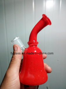New Profile Glass Smoking Water Pipe with Color Beaker pictures & photos