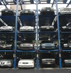 Hydraulic Quad Vehicle Storage Platform Parking Lift Parking System