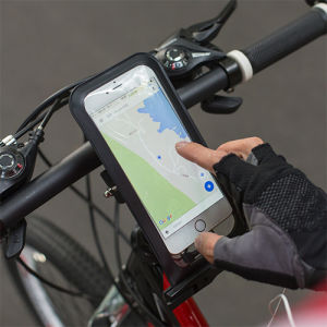 Waterproof Pouch Bike Mount with Install The on The Handlebar pictures & photos