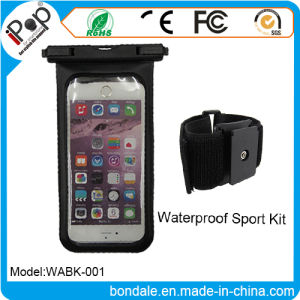 Sport Kit Waterproof Pouch Armband with Mobile Phone