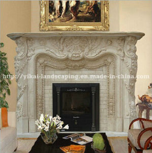 Hot Selling Luxury Electric Fireplace Mante for Indoor (YKFFP-47)