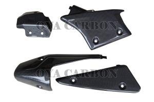 Carbon Fiber Heat Shields-4PCS for Kawasak ZX6-R 09 pictures & photos