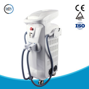 IPL Shr for Skin Renew Face Lifting and Skin Rejuvenation with Real Sapphire Crystal Handle pictures & photos