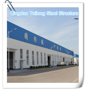 Cheap and Elegent Prefabricated Steel Structure Frame Building pictures & photos