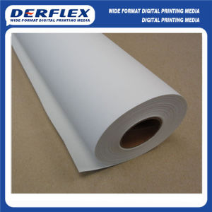 Waterproof Solvent Polyester Rolled Canvas pictures & photos