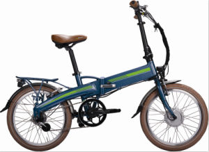 20′ Lithium Battery Hidden Folding Electric Bike pictures & photos