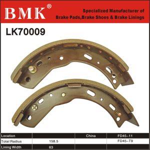 Non-Asbestos, Premium Forklift Brake Shoes (LK70009) pictures & photos
