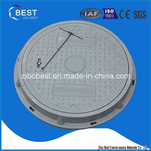 C250 Round 500*30mm SMC Vented Septic Tank Manhole Cover with Frame pictures & photos