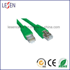 Green Cat6 Patch Cable 568B pictures & photos