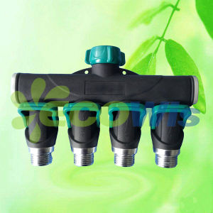 Thumb Control Faucet 4-Way Splitter Hose Connector pictures & photos