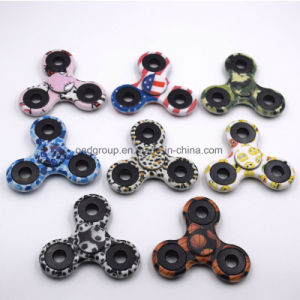 2017 Colorful Hand Finger Toys for Autism and Adhd Camo Fidget Spinner Plastic EDC Hand Spinner pictures & photos