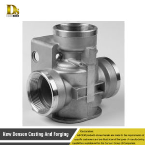 Customized High Quality Investment Steel Casting Valve Parts pictures & photos