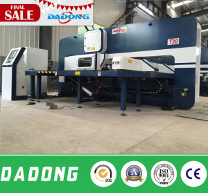 D-T30 CNC Turret Punching Machine for Solar Water Heater Processing pictures & photos