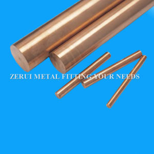 Solid Round Copper Rod for General Engineering pictures & photos