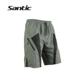 Santic Mens Mountain Loose-Fit Biking Shorts Padded Coolmax Cycling MTB Short M L Xl 2xl 3xl 4xl
