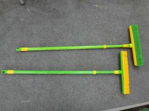 Telescopic Rubber Broom pictures & photos