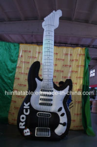 Sales Colourful Inflatable Guitar for Musical Advertising