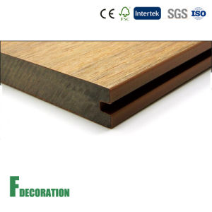 Co-Extrusion WPC Composite Outdoor Hollow Decking pictures & photos