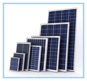 12V 100W Portail Solar Panel for Mojave Desert Solar Panel Project (SYFD100-Mono)