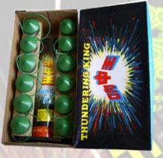 Crackling Thunder King Artillery Shells Celebration Fireworks pictures & photos