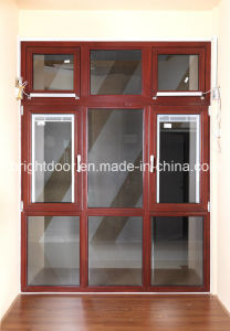 2015 New Design Aluminum Clad Wood Window pictures & photos