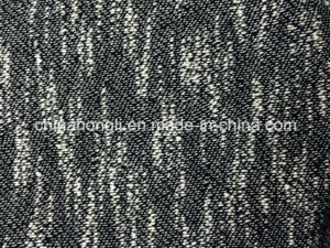 Slub Yarn Terry Polyester/Cotton Knitting Fabric for Sweater Garment pictures & photos