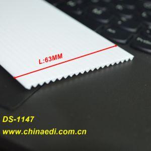 White PVC Extrusion Profile pictures & photos