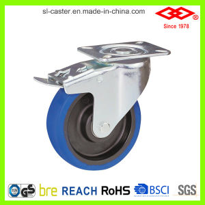 "5"" Swivel Plate Thick Housing Nylon Industrial Castor (P161-20D125X35) pictures & photos"