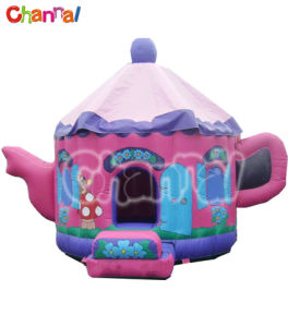 Teapot Inflatable Bouncer/Inflatable Bounce House (Bb125) pictures & photos